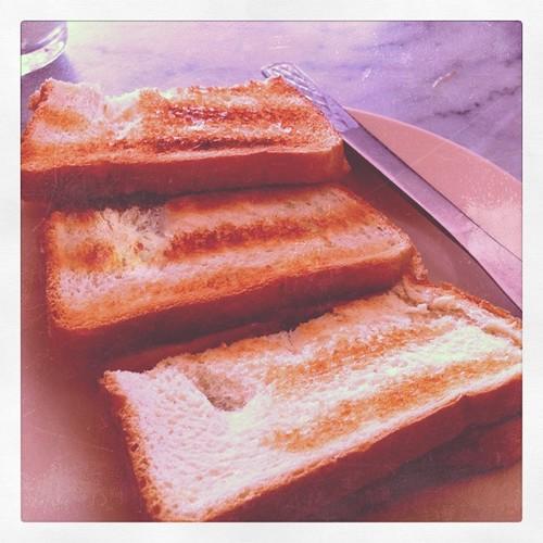 Kaya bread @ Chin Mee Chin