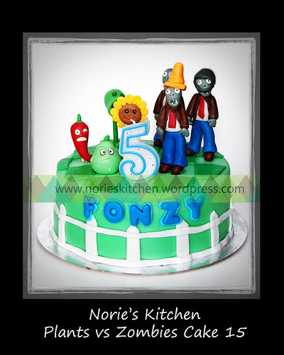 Norie's Kitchen - Plants vs Zombies Cake 15 by Norie's Kitchen