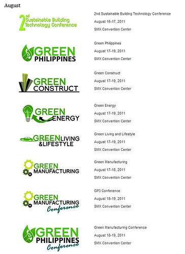 Green Living Events Aug2011