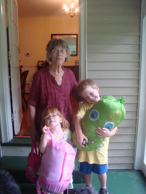 Sleepover at Grandma's