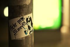Custom Sticker featuring Alamby