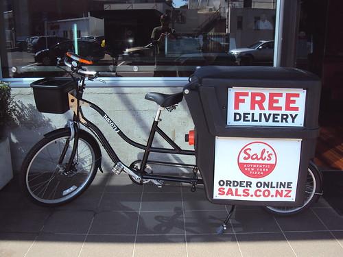Sal's Delivery Bike
