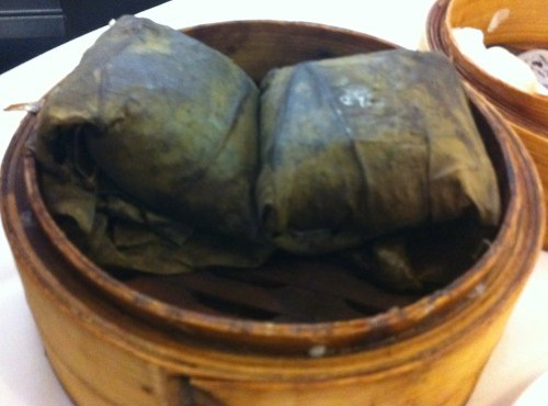 Glutinous Rice Wrapped in Lotus Leaves at Golden Century