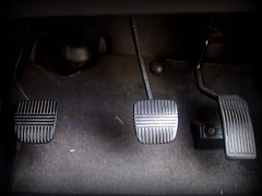 Pedals, Old Nissan