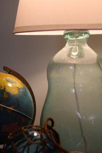 Glass Bottle Lamp