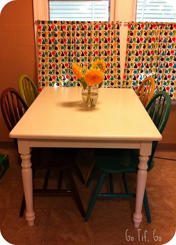 Refinished Table/Chairs