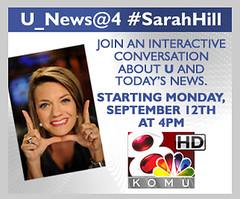 U_News@4 #SarahHill