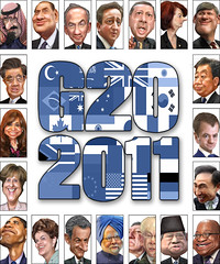 G20 heads of government - Caricatures (Septemb...