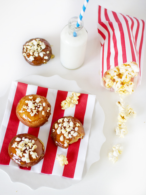 popcorn doughnuts