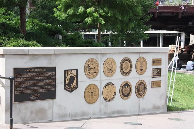 Vietnam Memorial Chicago