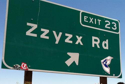 Zzyzz Exit