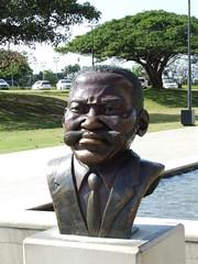 Moses Mabhida Bust
