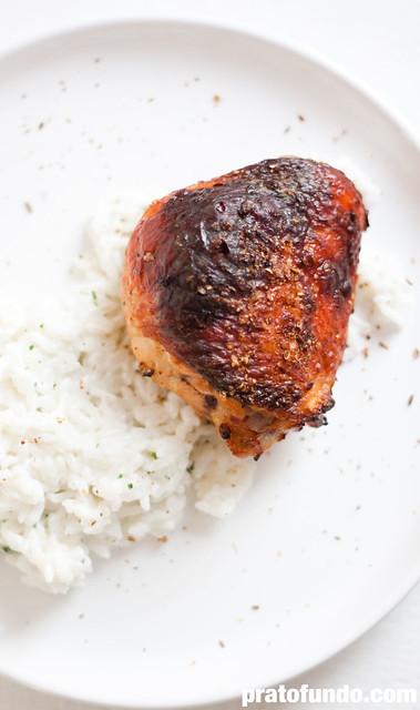 Frango Asiático (Spiced Chicken Asian Style)