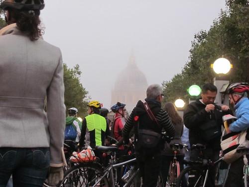 fog and city hall