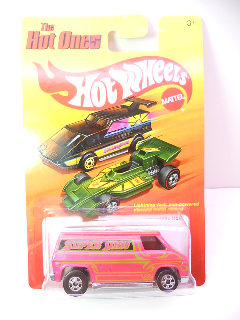 hot wheels hot ones van