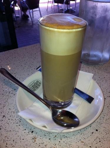 Latte at Taste Graze