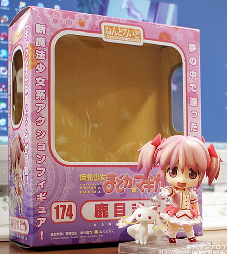 Nendoroid Kaname Madoka and her packaging