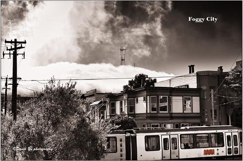 Foggy City by davidyuweb