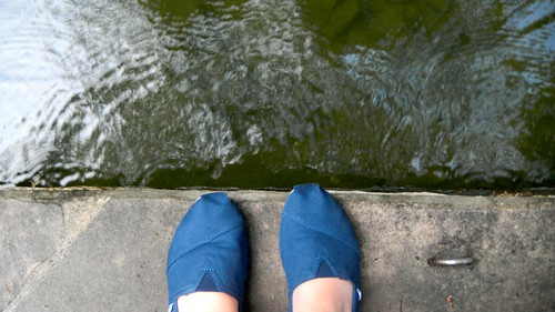 San Antonio River Walk feet by SusanKurilla
