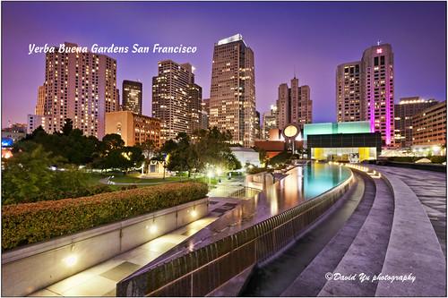 Yerba Buena Gardens San Francisco by davidyuweb