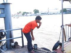 Chao Phraya Express Boatman