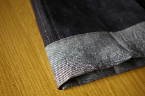 Jeans cuff
