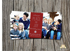 4x8 Holiday Photo Card