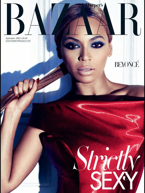 Beyonce Sept 2011 Bazaar UK