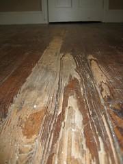 Library floor - original condition