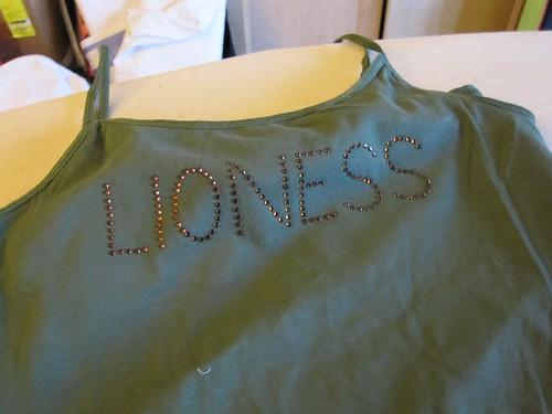 Lioness shirt