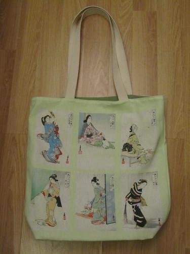Japanese Beauties bag
