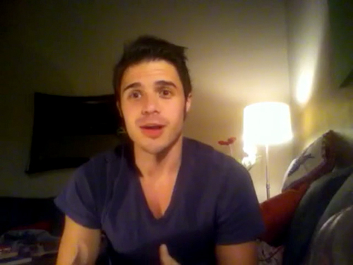 Kris Allen sophomore album update screen capture picture 20