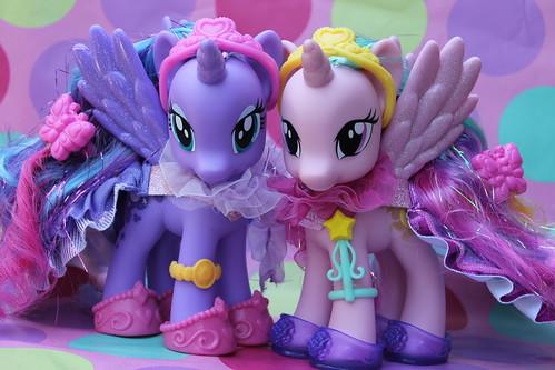 222/365- My Little Ponies Luna and Celestia