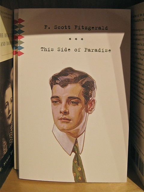 Francis Scott Fitzgerald, This Side of Paradise, cover design di Megan Wilson. Copertina (part.)