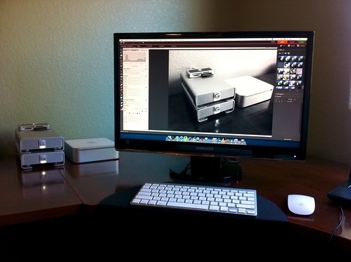 G-Technology Drives & Mac Mini Setup