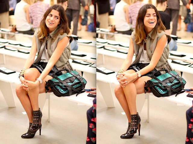 Street Style: The Man Repeller at Kim Ovitz