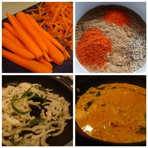 carrots and curry