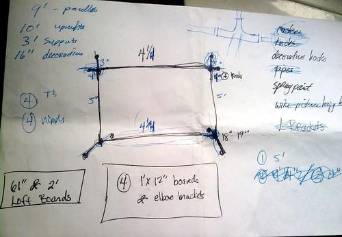 Garment Rack Sketch