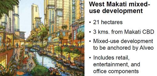 Ayala's West Makati mixed-use development