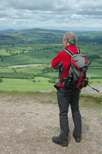200110619-32_Admiring the view from Summit of Moel y Faen by gary.hadden