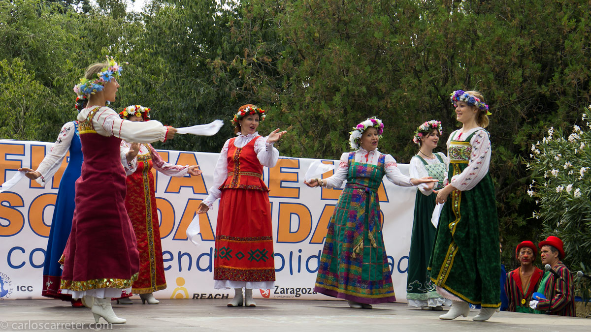 Grupo folclórico ruso