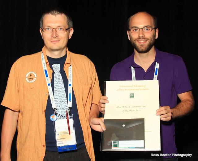 IFLA Communicator of the Year 2011: NPSIG!