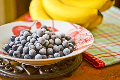 Banana Blueberry Muffins 18