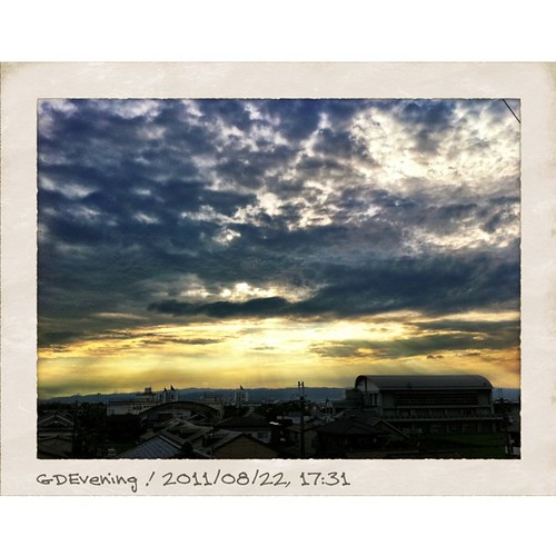 今日も一日、お疲れ様でした。 #sunset #iphotography #instagram