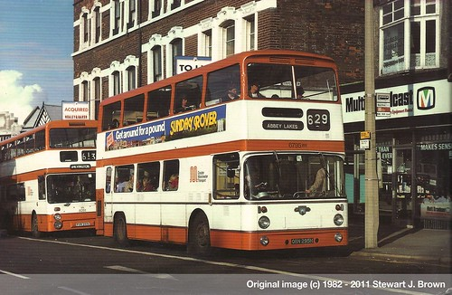 Leyland Atlantean PDR1A/1, OBN 295H, Greater Manchester Transport, Wigan