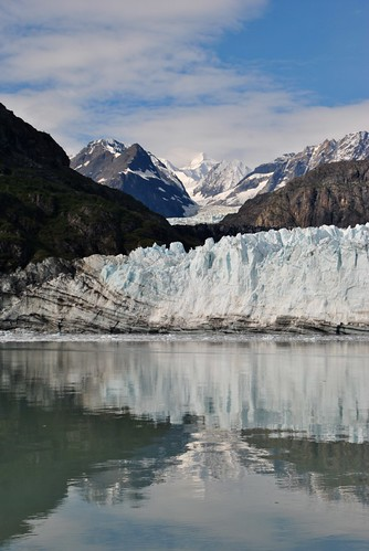 The edge of Margarie Glacier