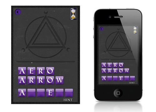 Basic Mockup of simple iPhone App I'm Working On