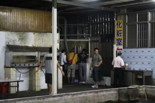 [台湾2.5] 2時間でエビ釣りが終了
