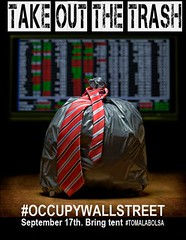 TAKE OUT THE TRASH #occupywallstreet
