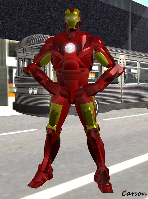5ifth Order Animation Array Iron Man Avatar